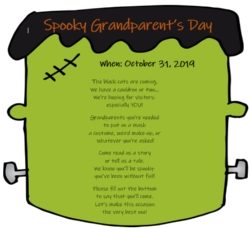 Spooky Grandparent's Day!