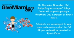 Let's support Kyan's Kause on GiveMiami Day 2019!